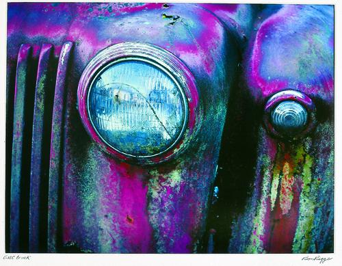 Ronald Rigge  GMC Truck  Ilfochrome print