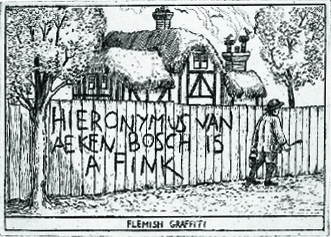 Arthur Gesert  Bosh  etching