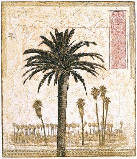 David Smith-Harrison  69 Palms  intaglio