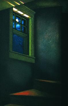 Mary Teichman  Sleep Walk  color etching