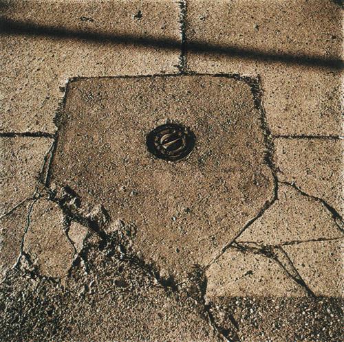 Mike Pierce  Concrete Home Plate  Van Dyke brown print