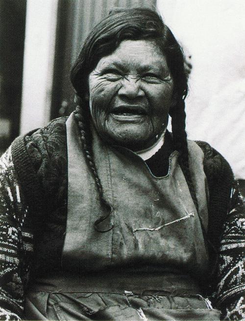 Claudia Towell  Mi Senora  black and white photograph