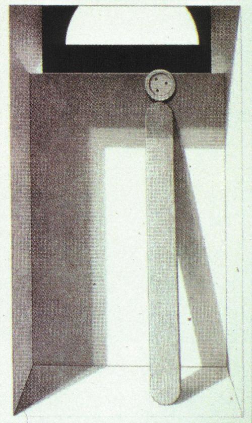 Charles W. Massey, Jr.  Secrets' eye  Lithograph