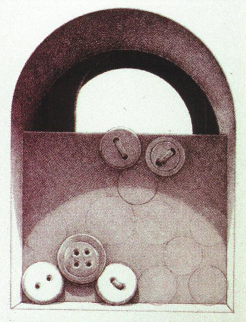 Charles W. Massey, Jr.  Secrets' Mark  Lithograph