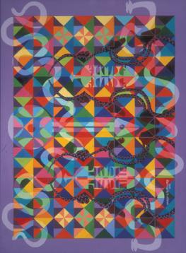 Murray N. DePillars   Celebration , 2001 acrylic on canvas