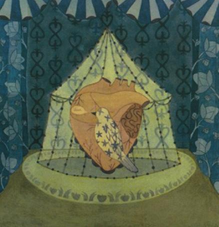 Christin Ciaccio   Circus of Trust , 2003 watercolor on paper