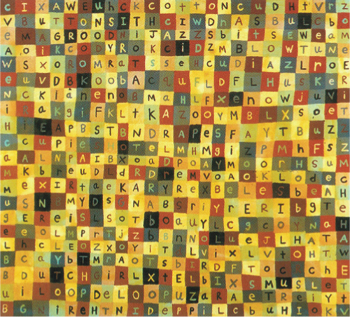 Tad Lauritzen Wright   Holy Poker , 2002 acrylic and wax on canvas