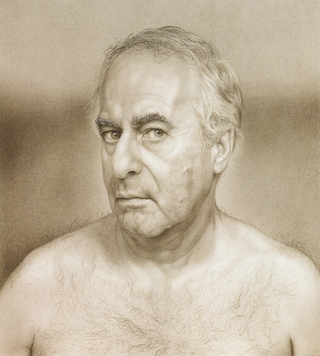 James Valerio   Self Portrait , 1998 graphite on paper 20.5 x 18.5 inches Courtesy of the Arkansas Arts Center Foundation Collection