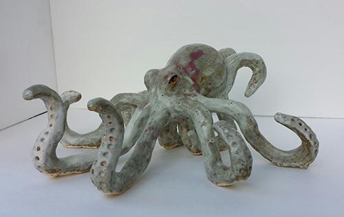 Victoria Morgan   Octopus  Ceramics 12 x 20 x 20 inches