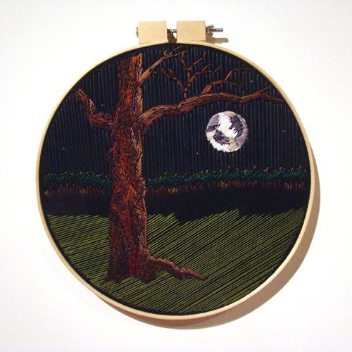 Amanda Blake Willett   Bliss , 2010 embroidery on felt