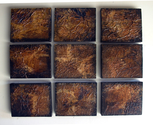 Thea Austin   What a Relief , 2010 mixed media on panel
