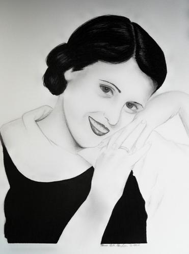 Anna Beth Harden   Lela Golden , 2010 graphite on paper