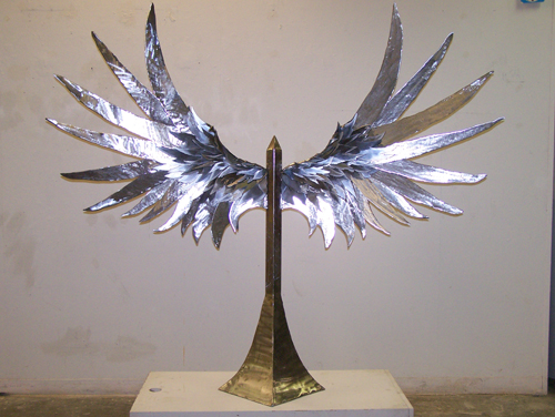 James Jumper   Redemption , 2010 steel