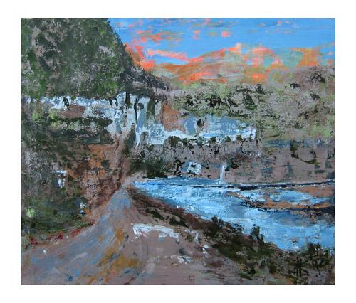 Karla Keller   Landscape , 2007 oil on canvas