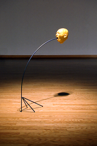 Teddy Wigginton   Growing Pain , 2002 mixed media