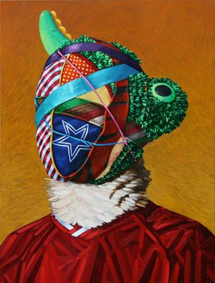 John Harlan Norris   Mascot , 2012 oil on canvas
