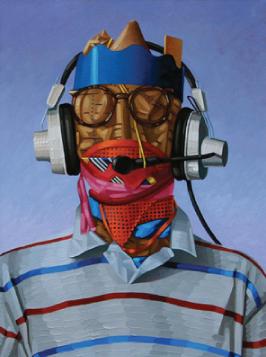 John Harlan Norris   Programmer , 2012 oil on canvas