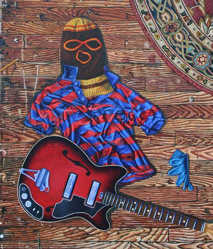 John Harlan Norris   Singer , 2010 oil on canvas