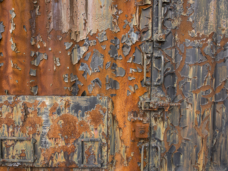 Ronald Rigge   Rust I , 2017 archival pigment photograph 10.5 x 14 inches
