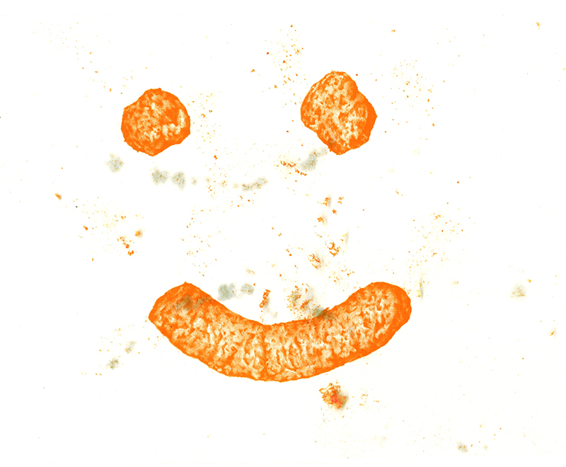 Les Christensen Excellence in Art Purchase Award. Permanent Collection, Arkansas State University. Underwritten by Julie Bates, Little Rock.   Ella Weber   Cheat-Ho Smiley , 2016 stone lithograph on digital inkjet 11 x 14 inches