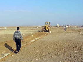 Geoff Lawton's Greening of the Jordanian Desert    before