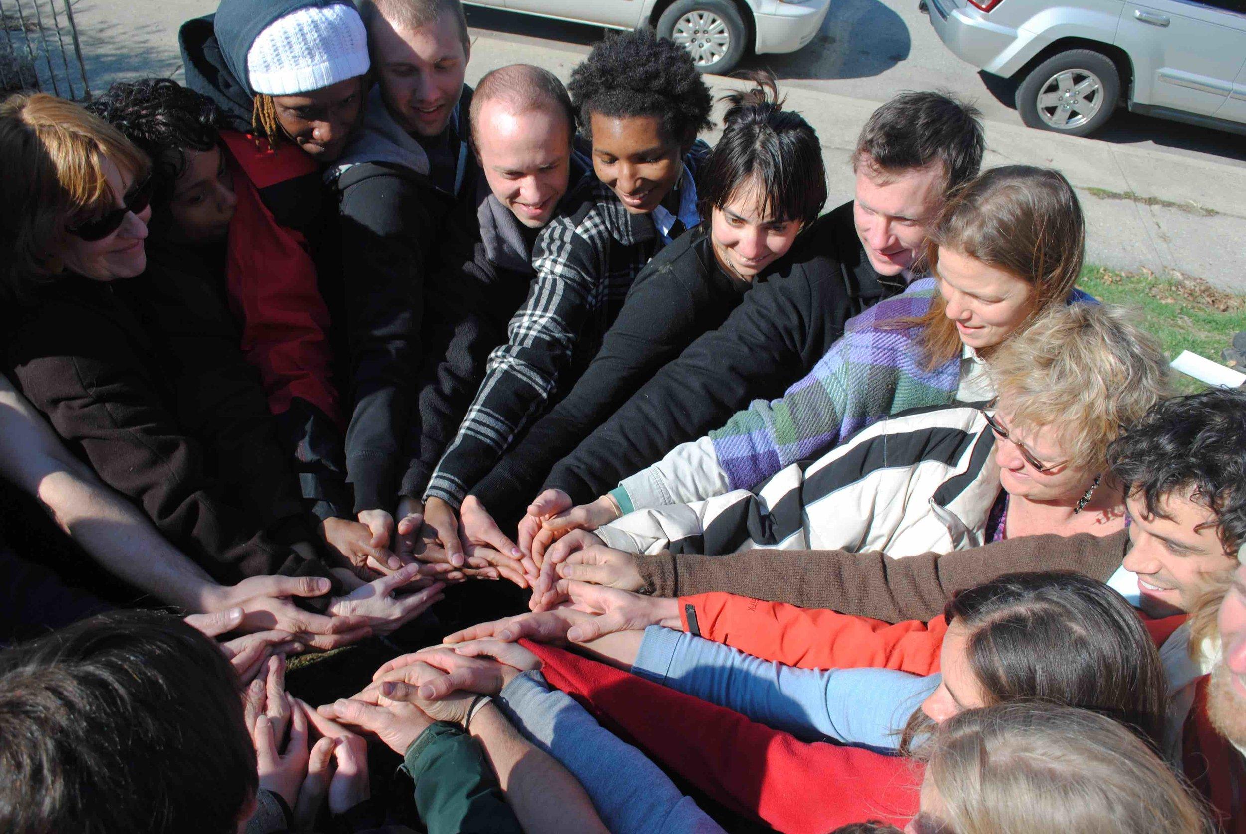 Our 2011 Winter PDC Graduates building community