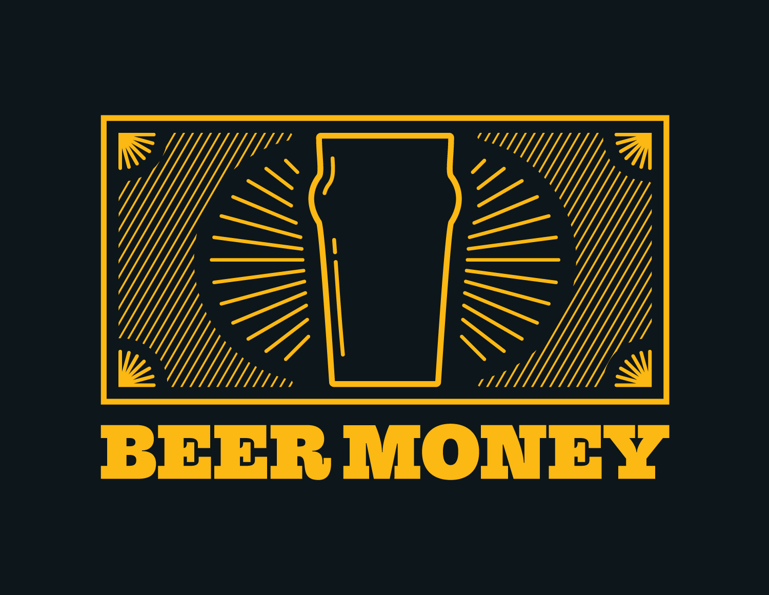 Beer Money  Charity event t-shirt