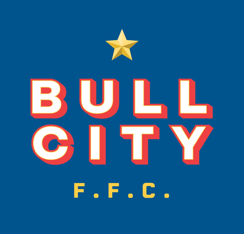 Bull City Fantasy Football Club  Logo lockup