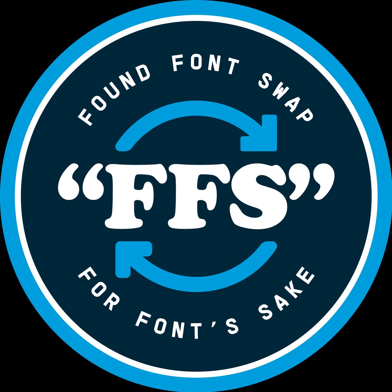 Found Font Swap  Logo lockup