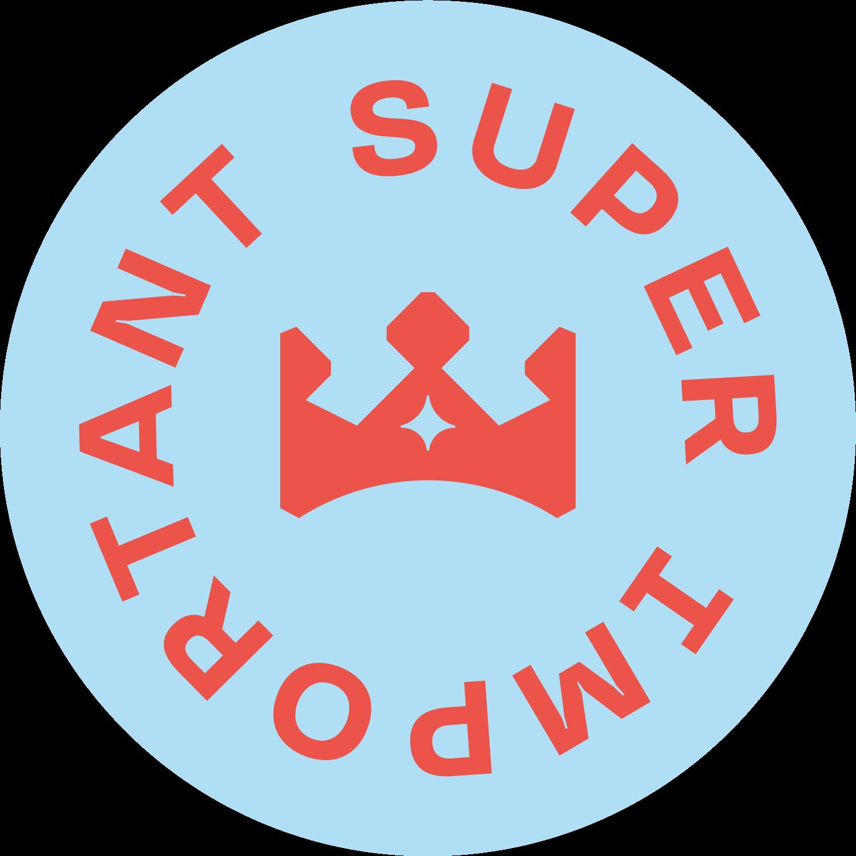 A Super Important League  Logo lockup