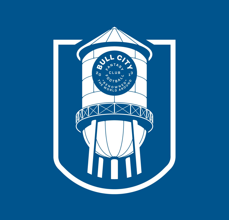 Bull City Fantasy Football Club  Illustration