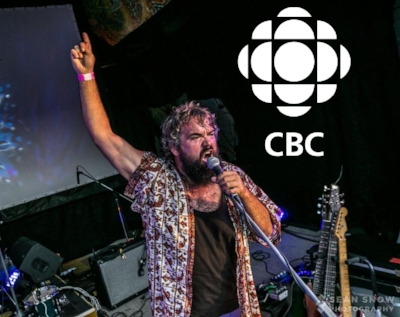 On April 19th, 'Can't Quit You' was premiered on 'Shift' at CBC Radio 1. Written by Stephen Lewis, produced, recorded and mixed by Jay Merrill.