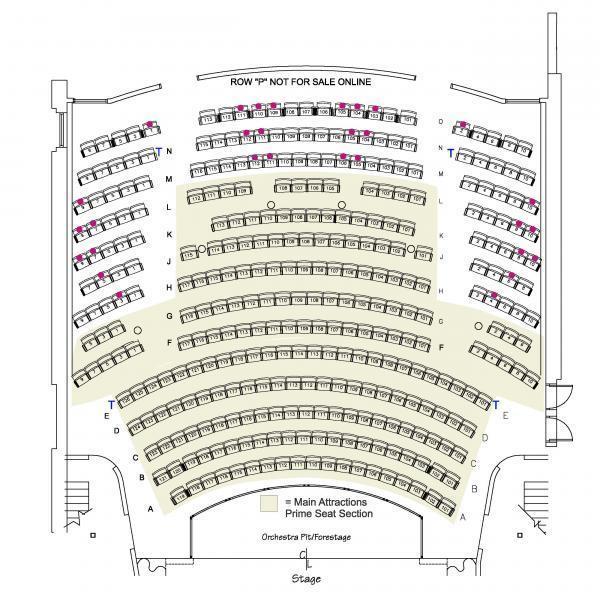 Thalian Hall Main Stage - 1st Floor