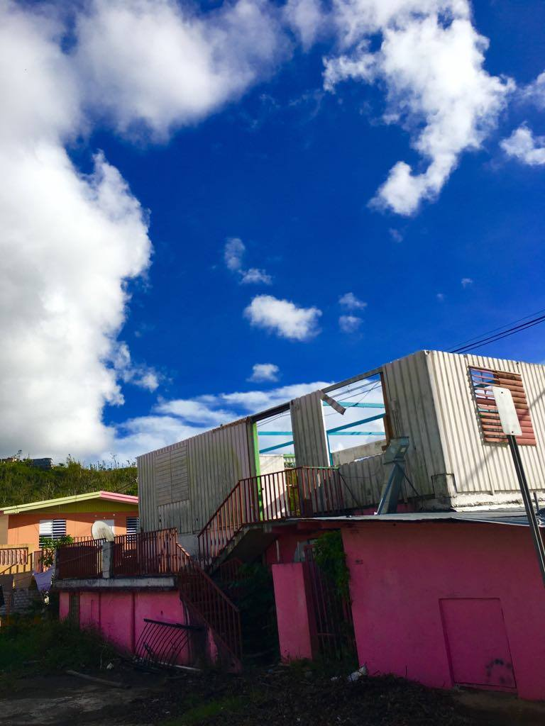 Photos from Bayamon, Puerto Rico during November 2017. Courtesy of Lizmarie Garcia.