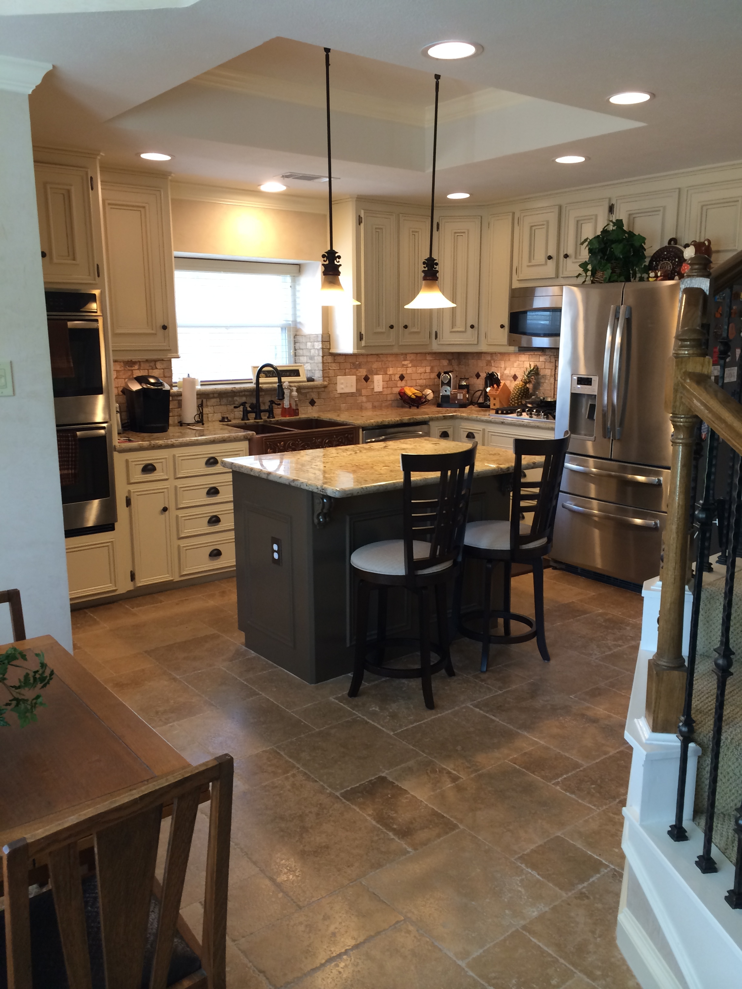 Blonde Woodwork to French Country Kitchen — WHODID IT DESIGN
