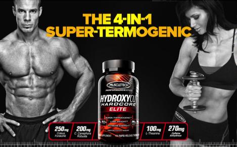 Figure 1. A Hydroxycut™ advertisement (10)
