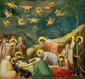 Lamentation by Giotto, c. 1305