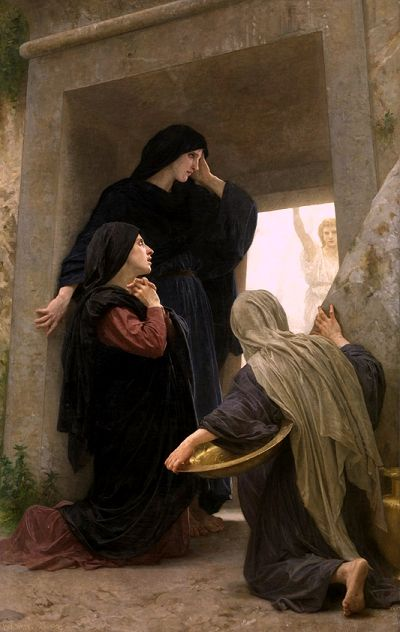 The Three Marys at the Tomb,  William-Adolphe Bouguereau, 1825-1905