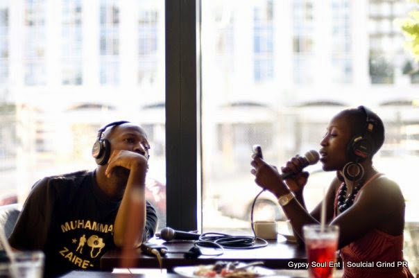 The first time I met and worked with Yahzarah. She being interviewed by DJ Lil Mic for WEAA's Friday Night Jazz Club. Our photogs captured some great pictures that day!