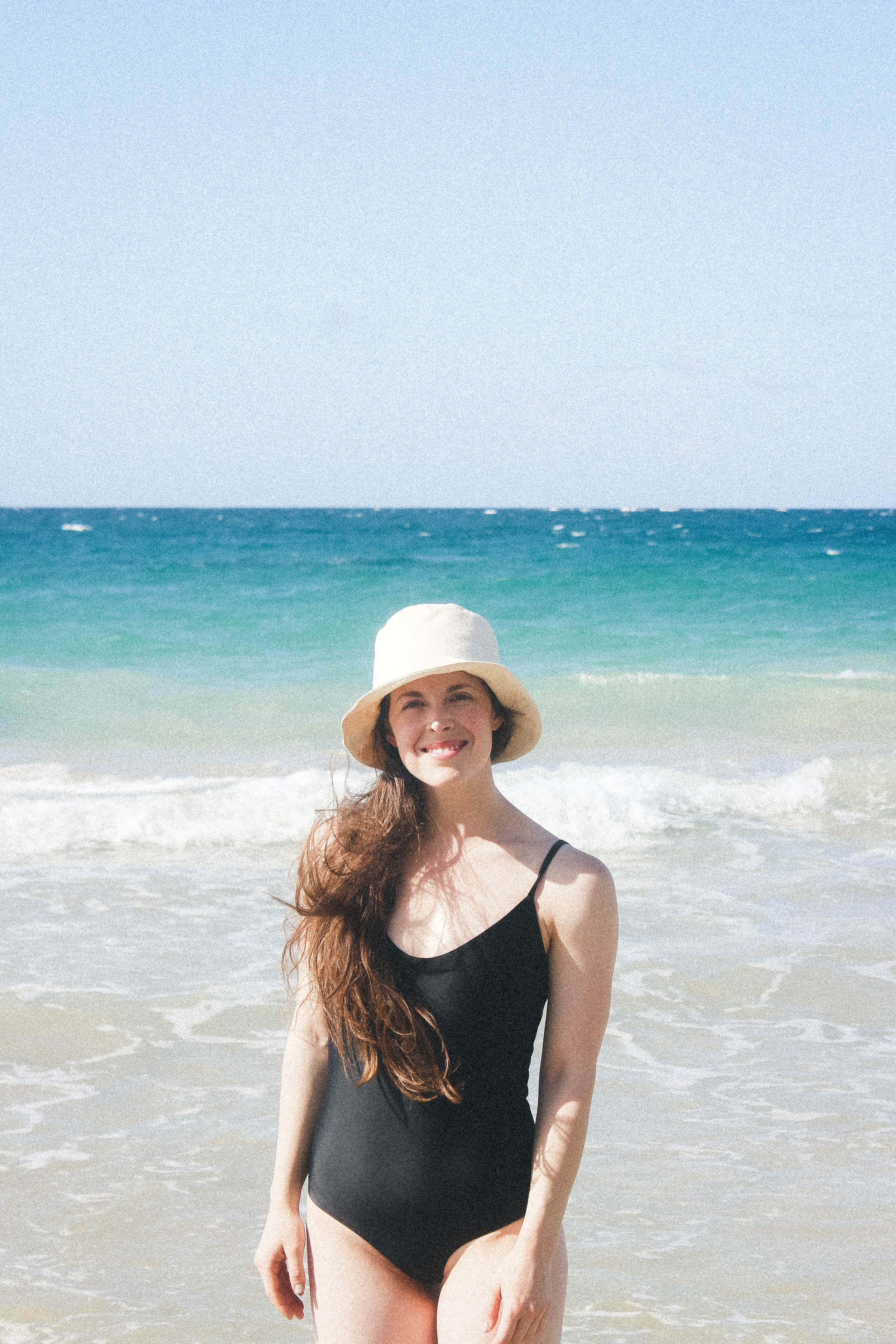 SAN JUAN, PUERTO RICO TRAVEL DIARY | TAYLORKRISTIINA.COM |   WEARING MATTEAU SCOOP MAILLOT AND JESSE KAMM FLY HAT