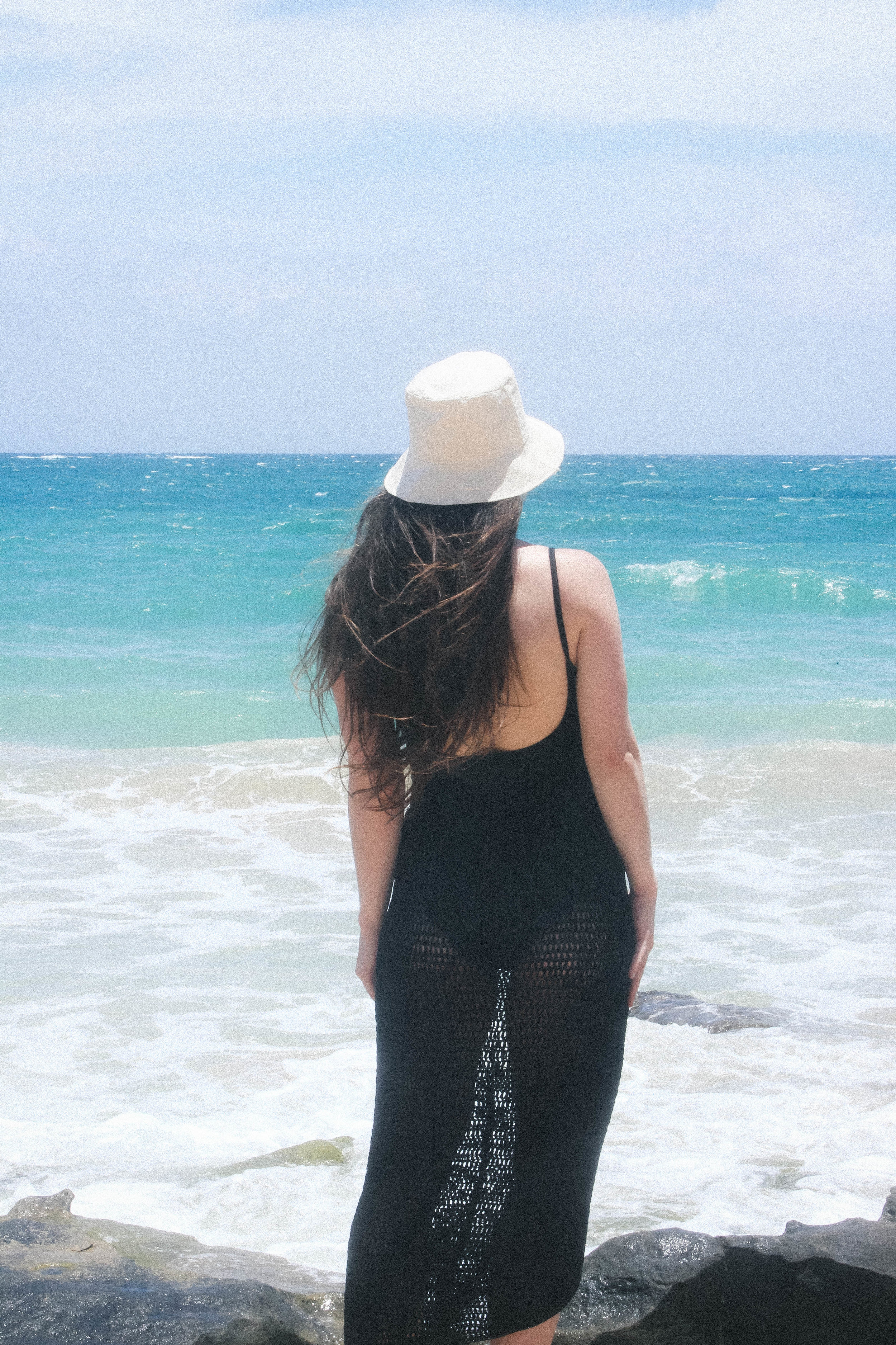 SAN JUAN, PUERTO RICO TRAVEL DIARY | TAYLORKRISTIINA.COM | WEARING MATTEAU SCOOP MAILLOT, JESSE KAMM FLY HAT, AND SIR THE LABEL ELLE KNIT SKIRT