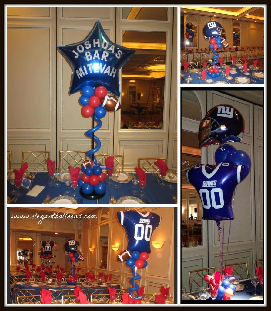 Giants football themed