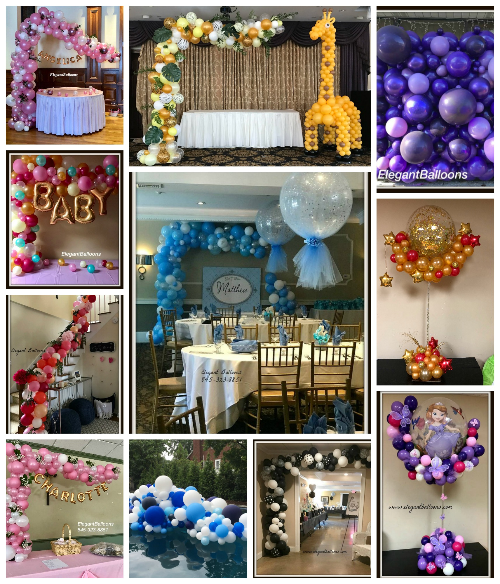 Organic Style Balloon Decor