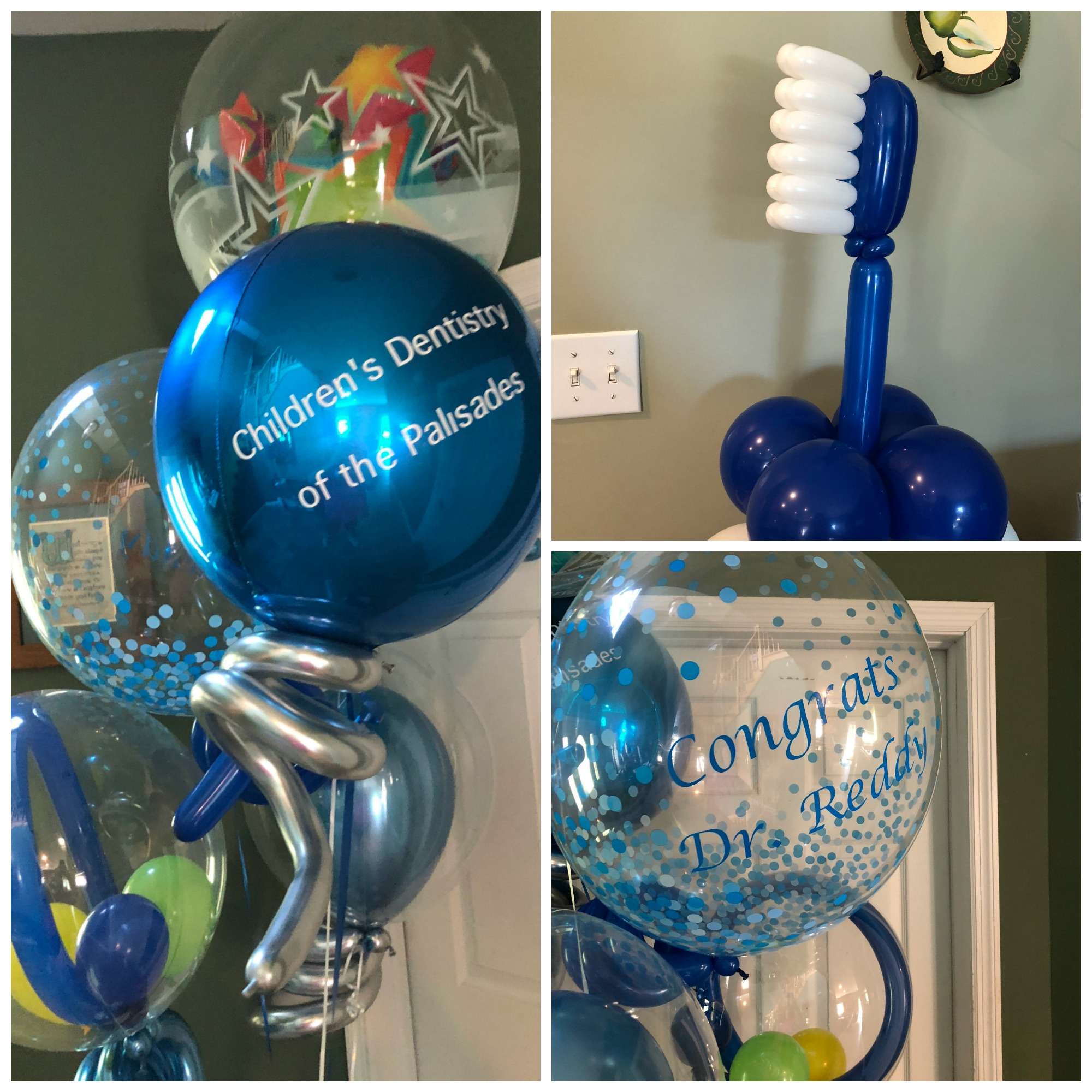 Dentist balloons
