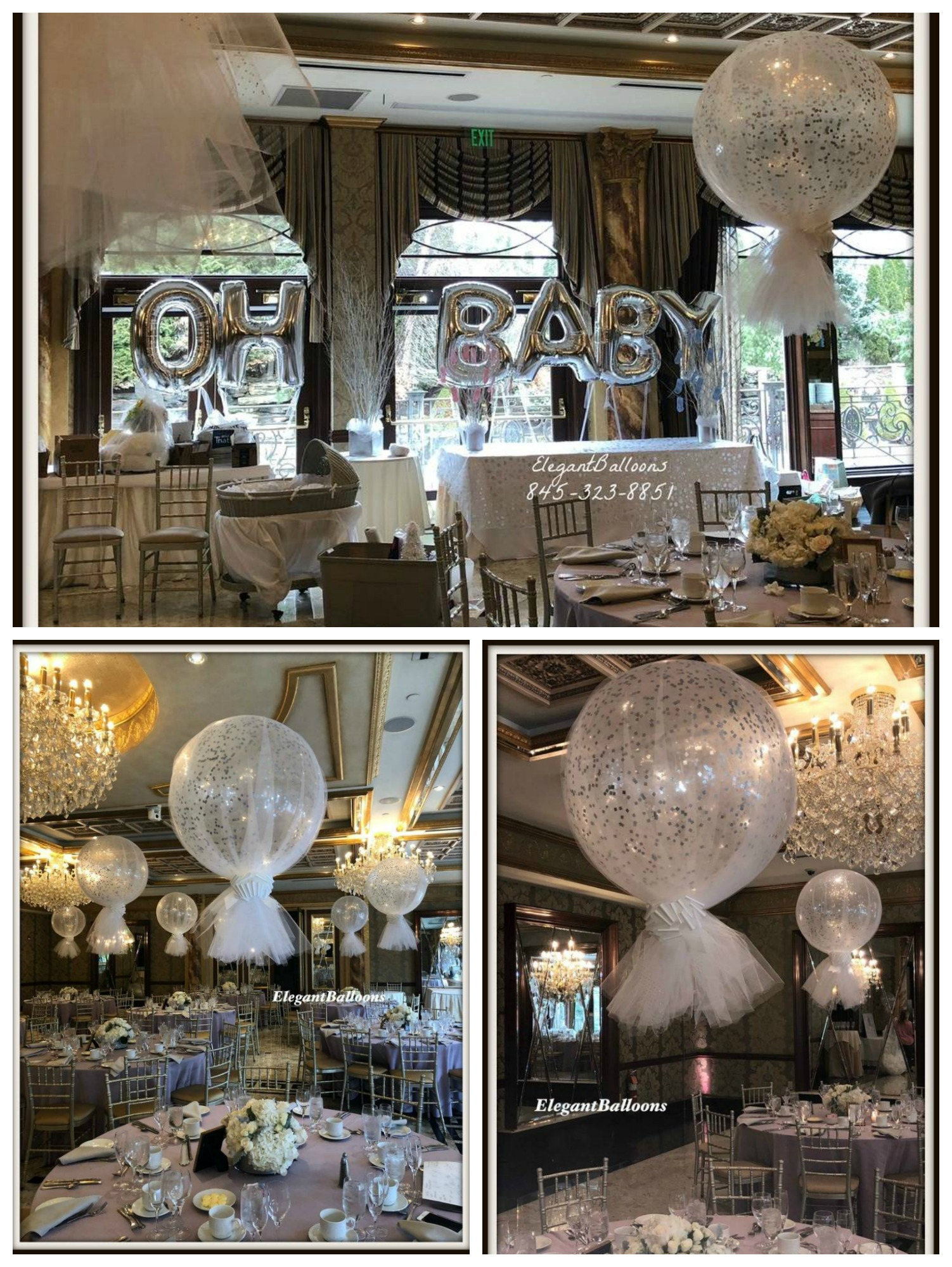 Oh Baby - Tulle covered balloons