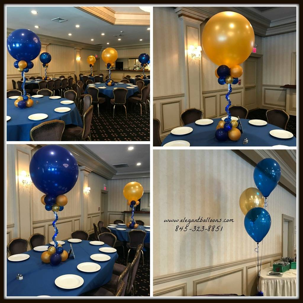 Blue and Gold Bar Mitzvah