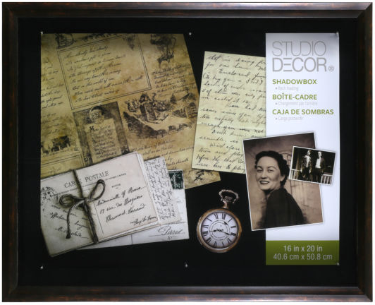 "16""x20"" Bronze Shadow Box  by Studio Decor, Regular Price $39.99 at Michael's"