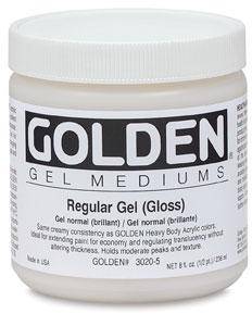 Golden Gel Medium , $17.42 at Utrect Art Supply