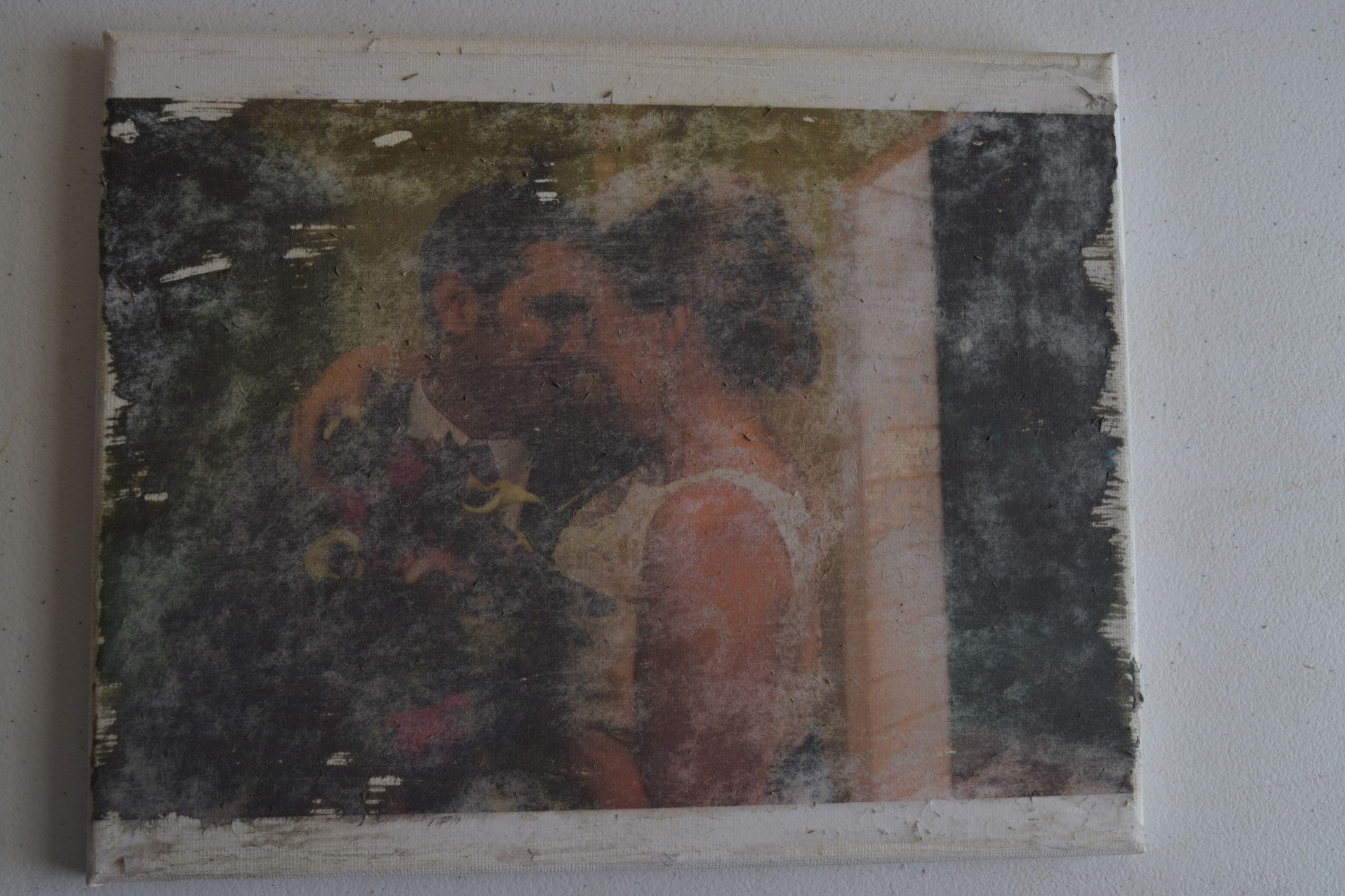 Photo transfer - too wet
