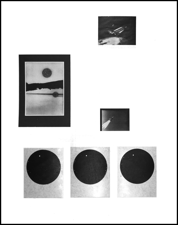 Between Two Worlds / Transit of Venus,  Xerox Print
